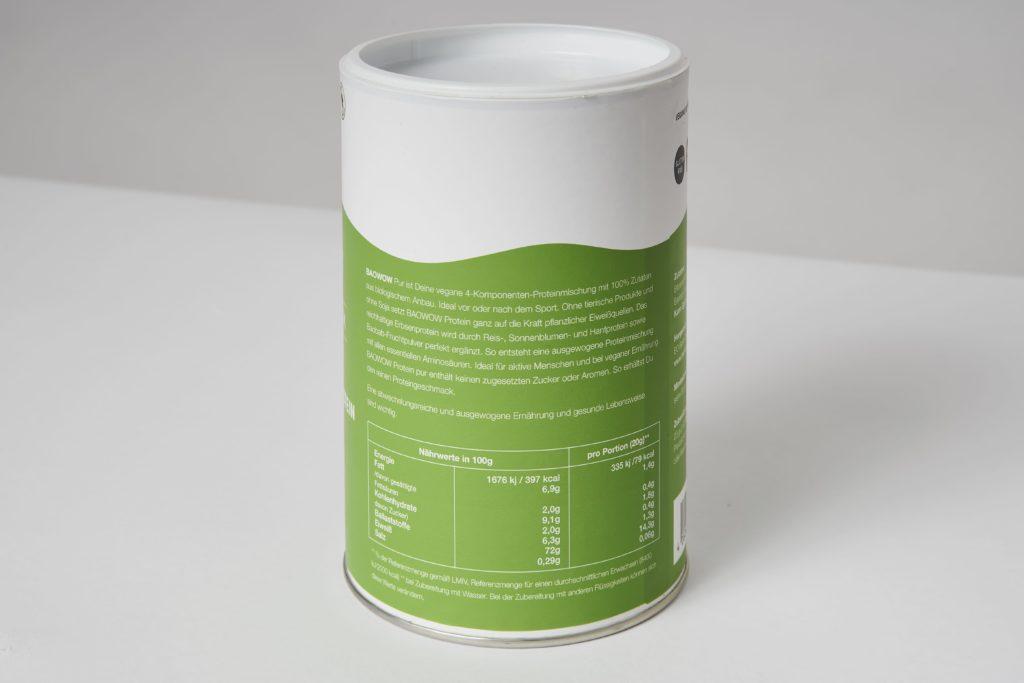 berlin organics erbsenprotein inhaltsstoffe