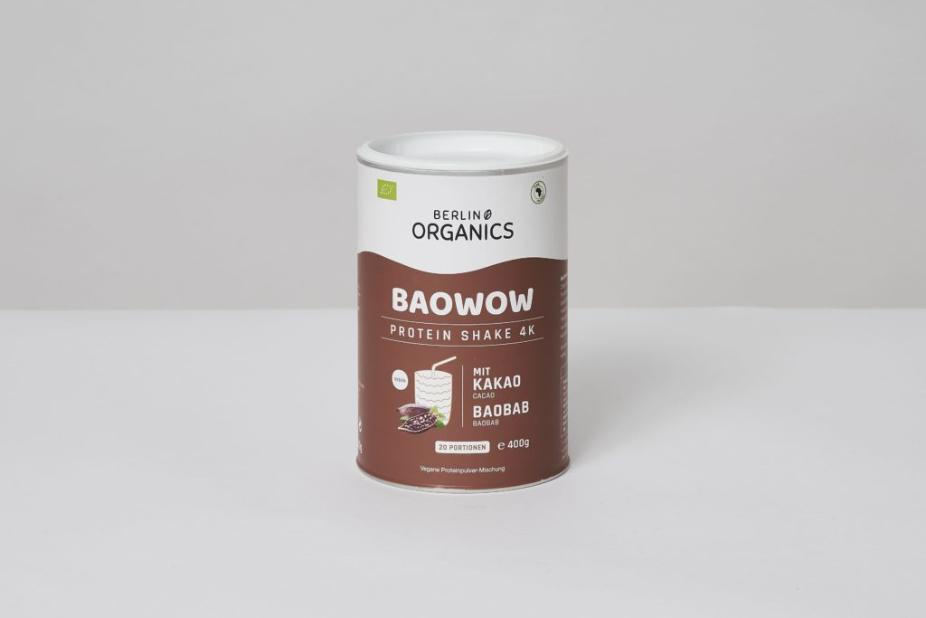Berlin Organics Bio Vegan Protein BAOWOW Schoko günstig kaufen