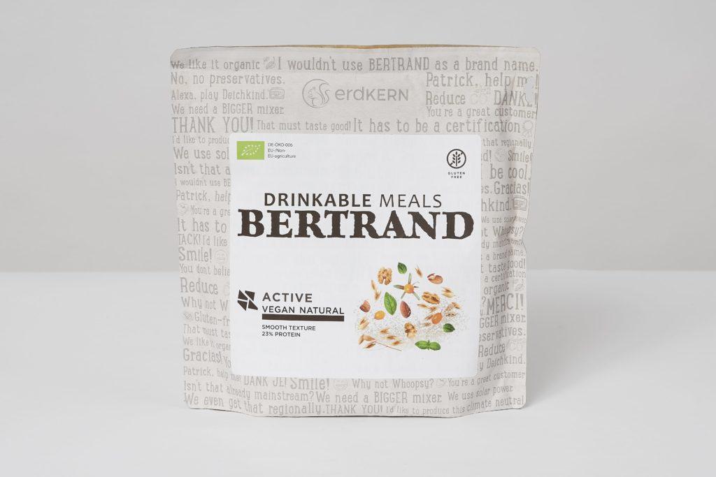 bertrand trinkmahlzeit active vegan test