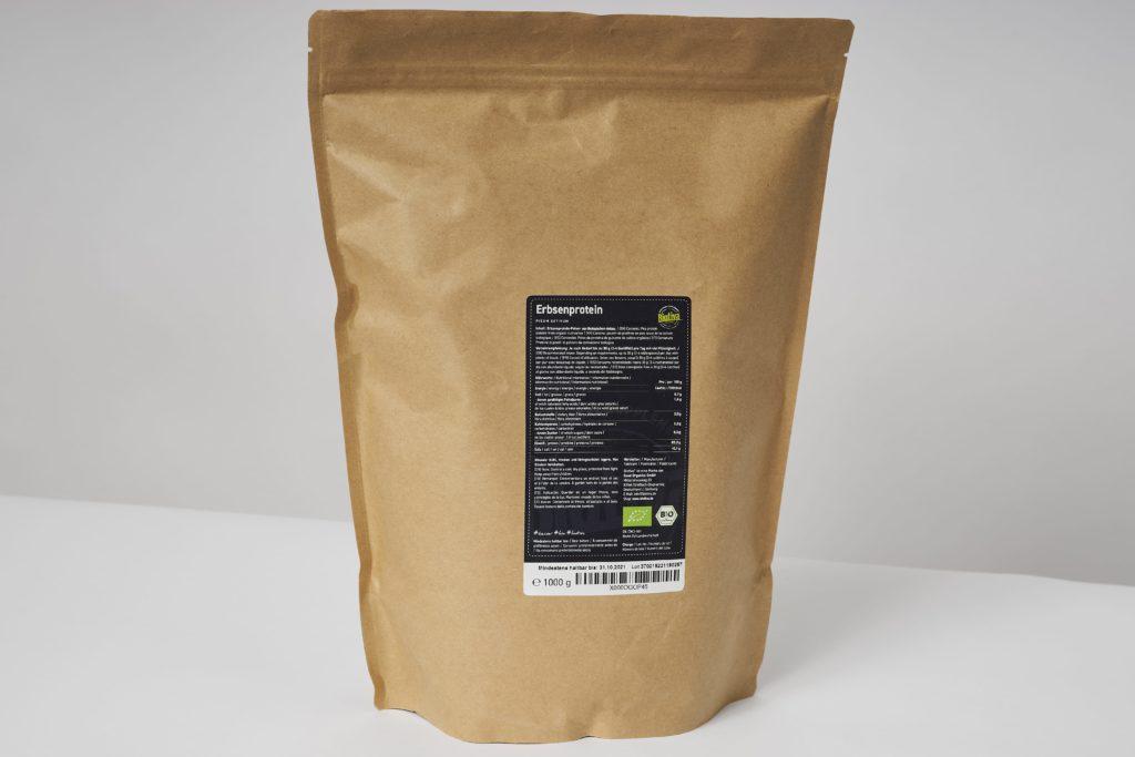 biotiva erbsenprotein inhaltsstoffe