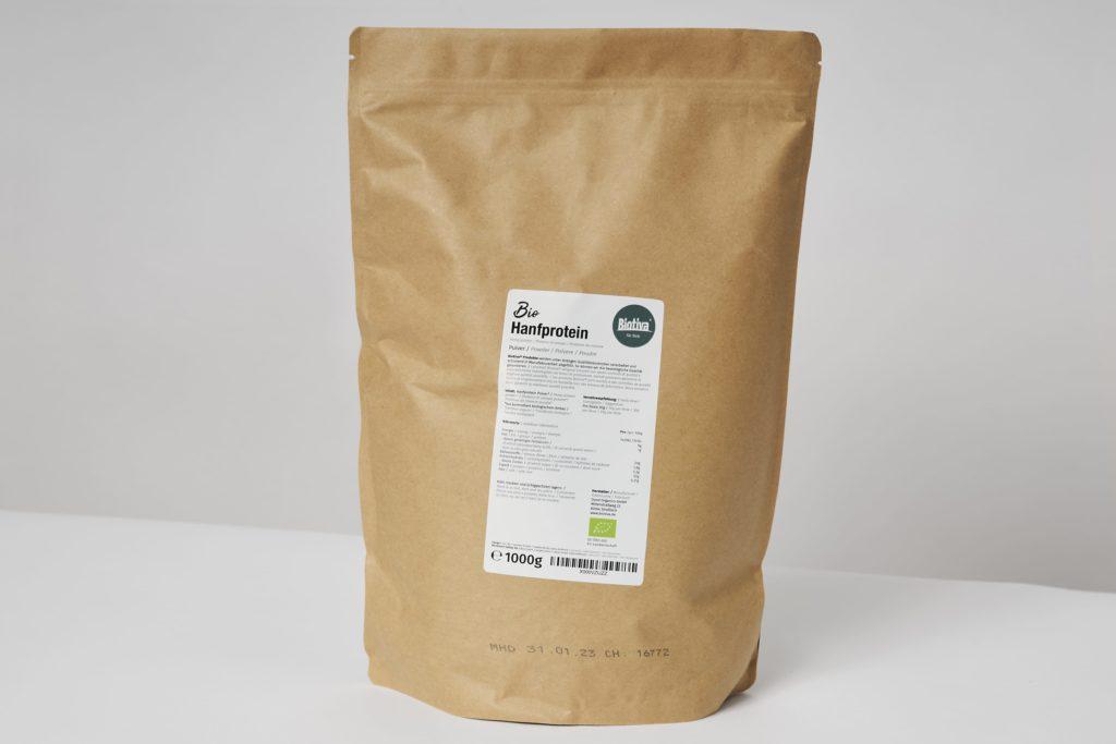 biotiva hanfprotein inhaltsstoffe