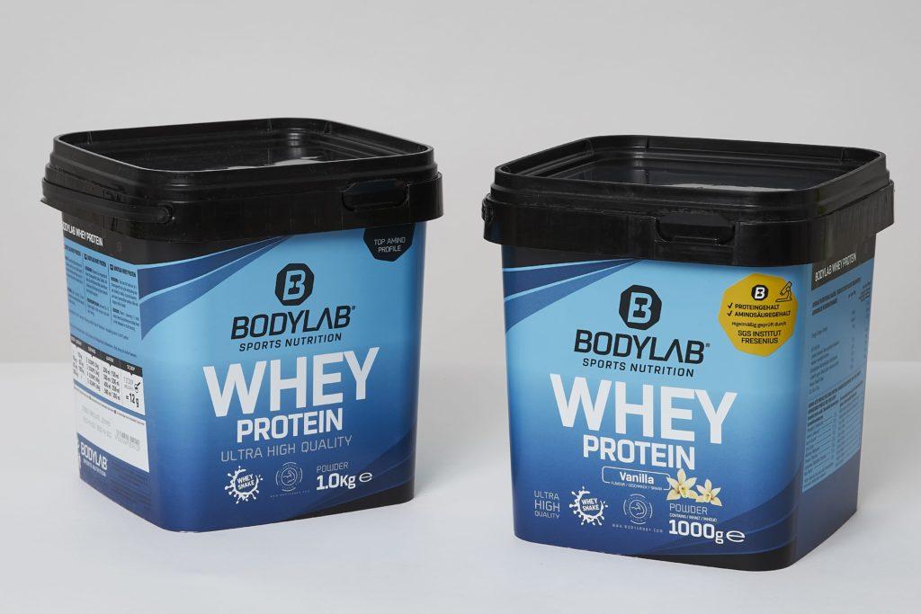 bodylab whey protein shake test