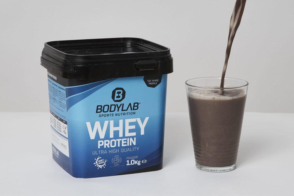 bodylab whey protein shake erfahrungen