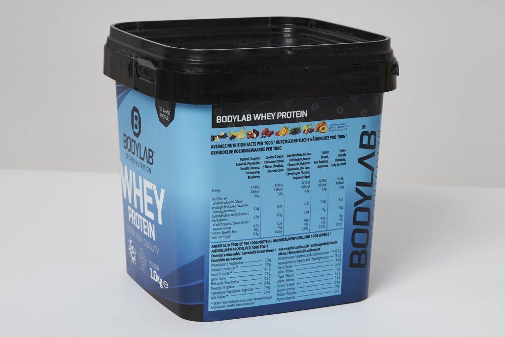 bodylab whey protein shake inhaltsstoffe