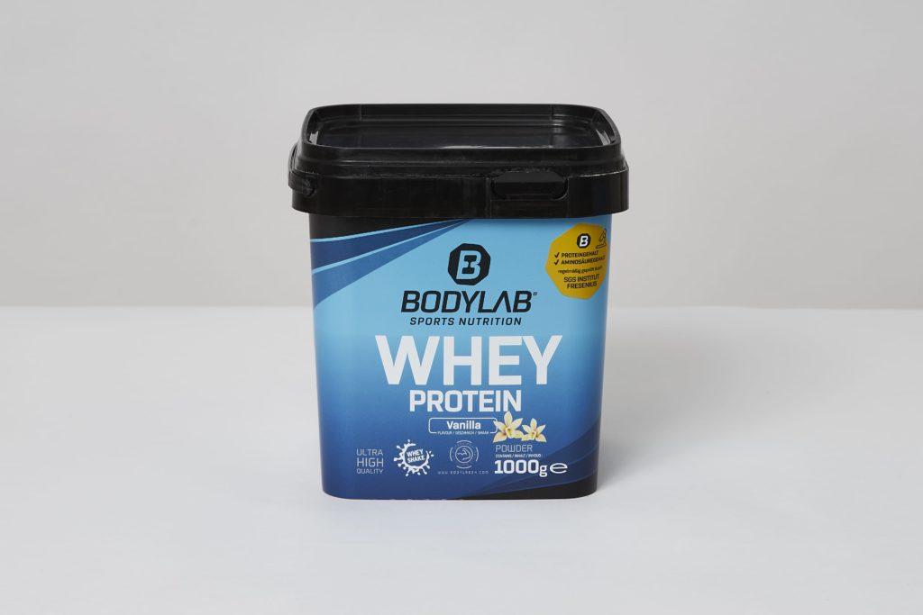 bodylab whey protein shake vanilla test