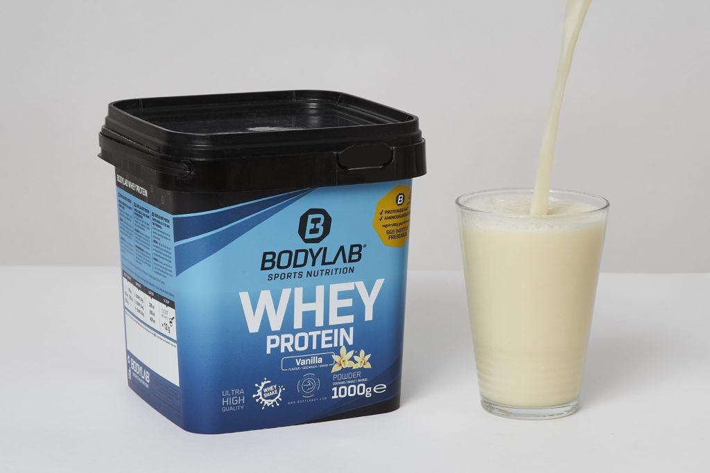 bodylab whey protein shake vanilla testbericht
