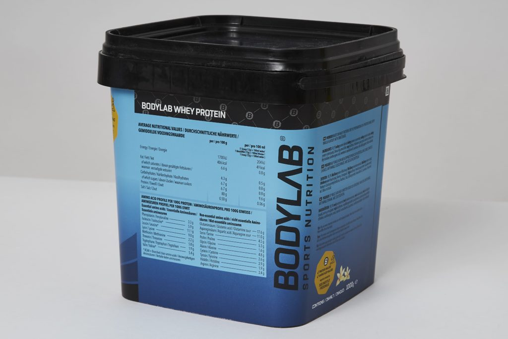 bodylab whey protein shake vanilla inhaltsstoffe