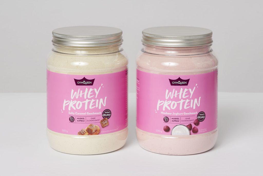 gymqueen whey protein shake test