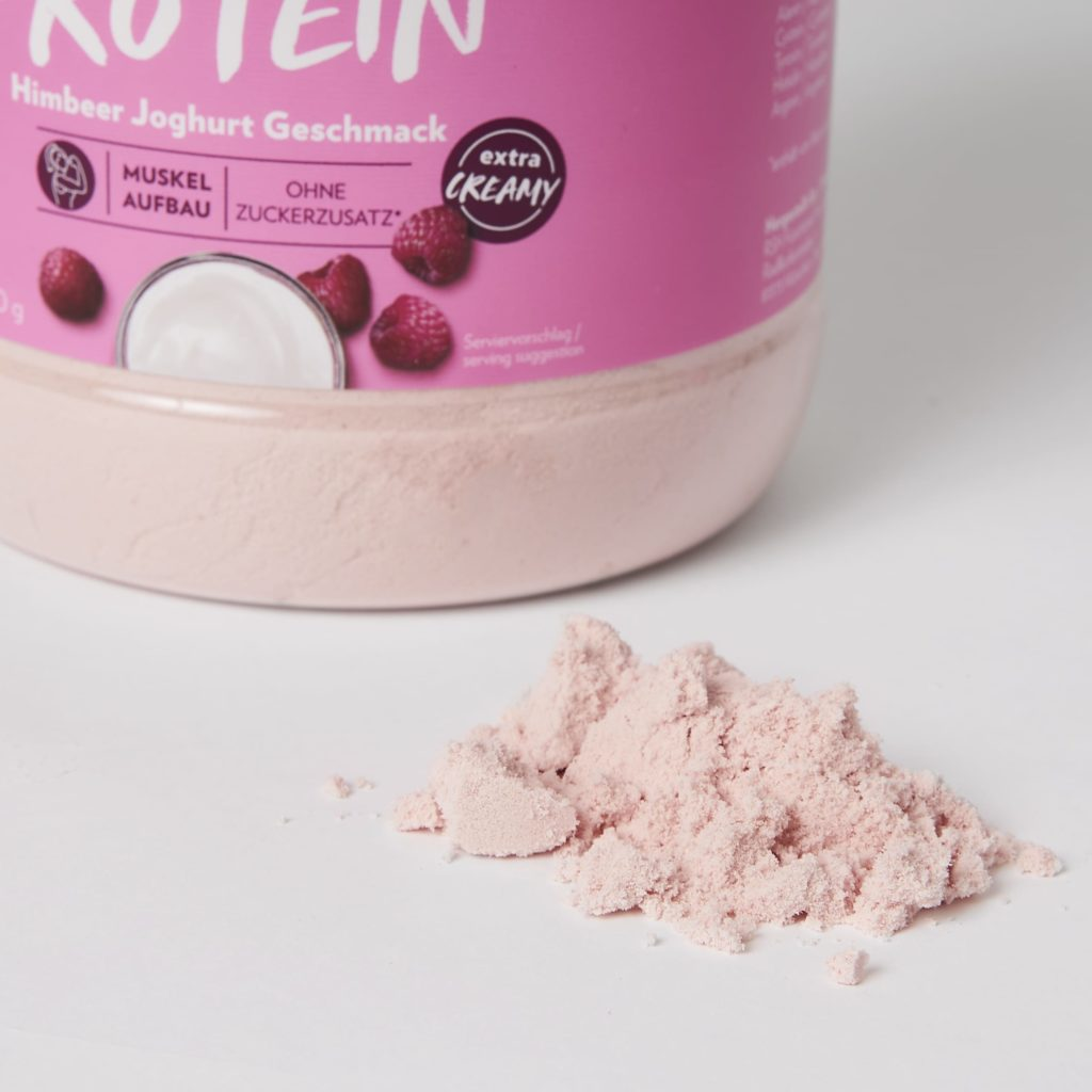 gymqueen whey protein shake himbeer joghurt erfahrungen