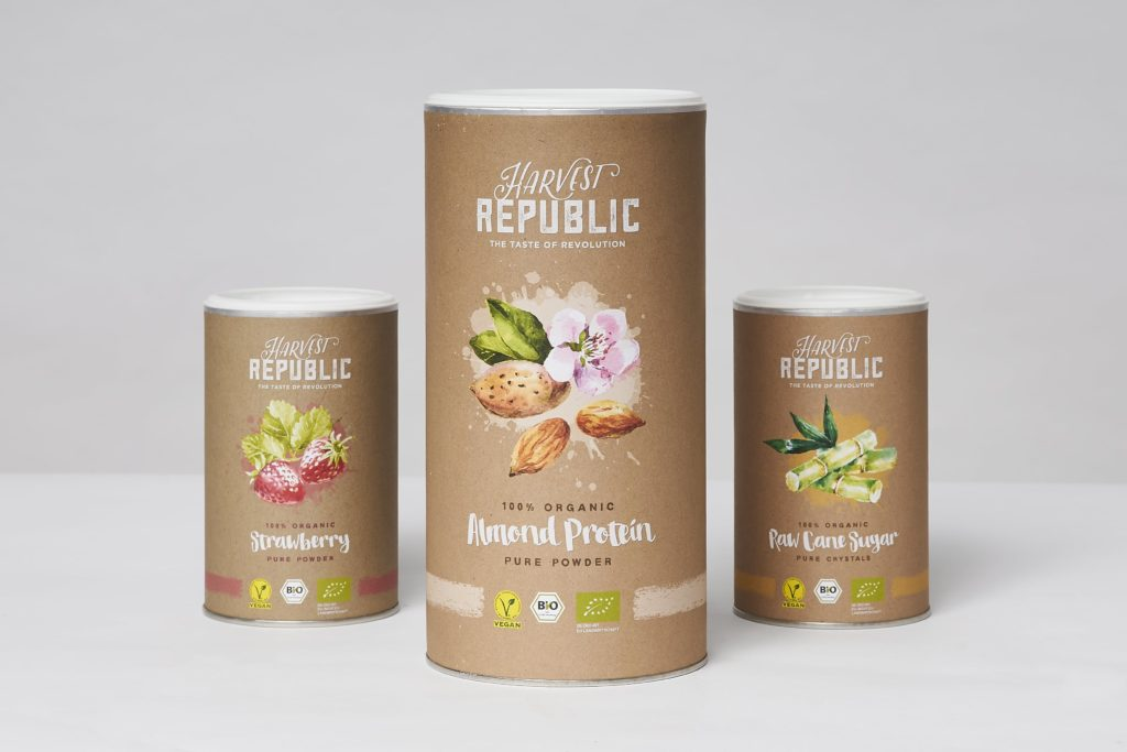 harvest republic almond protein