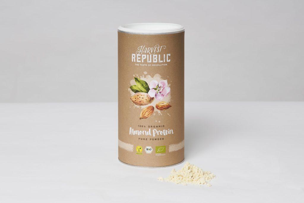 harvest republic almond protein test