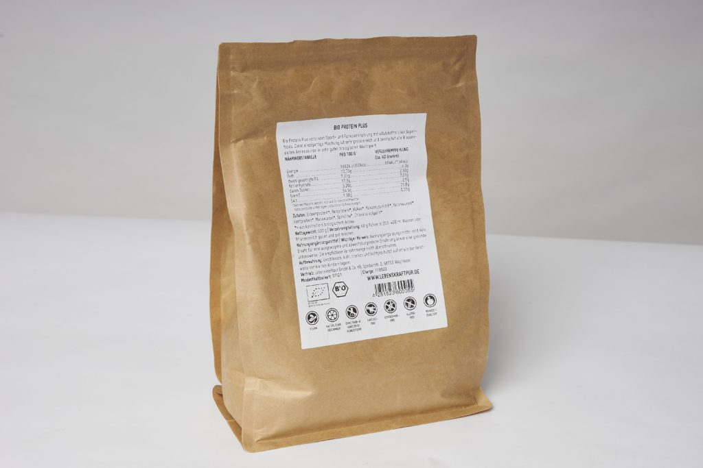 lebenskraftpur protein plus inhaltsstoffe