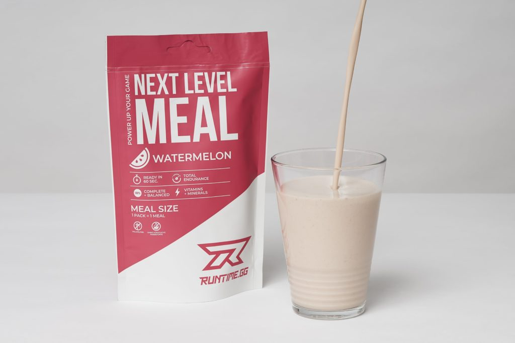 runtime next level meal shake test