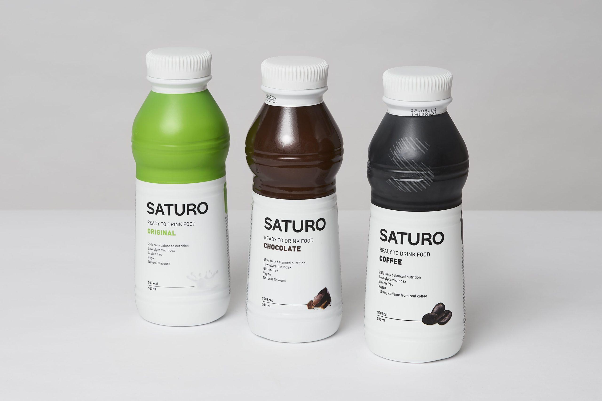 saturo drink food test
