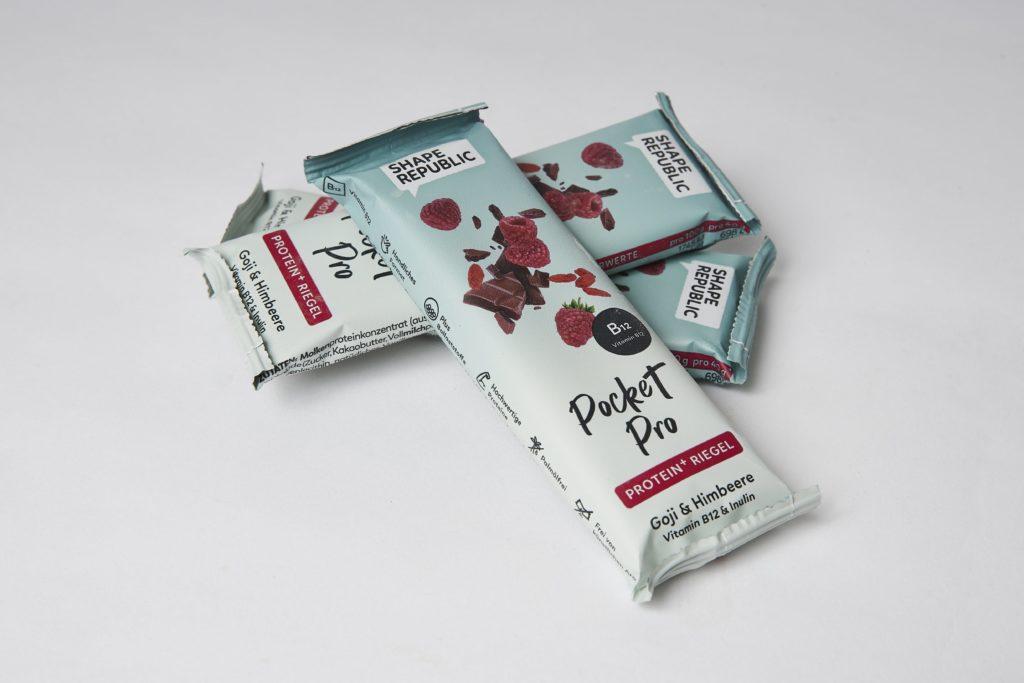 shape republic pocket pro protein riegel test