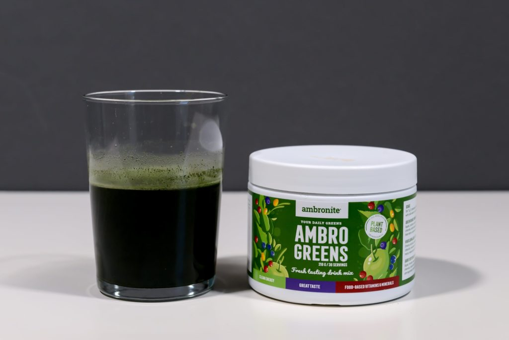 ambrogreens green smoothie