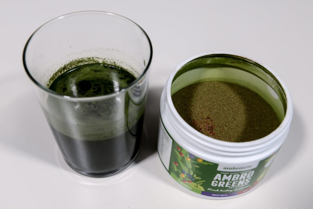 ambrogreens green smoothie pulver