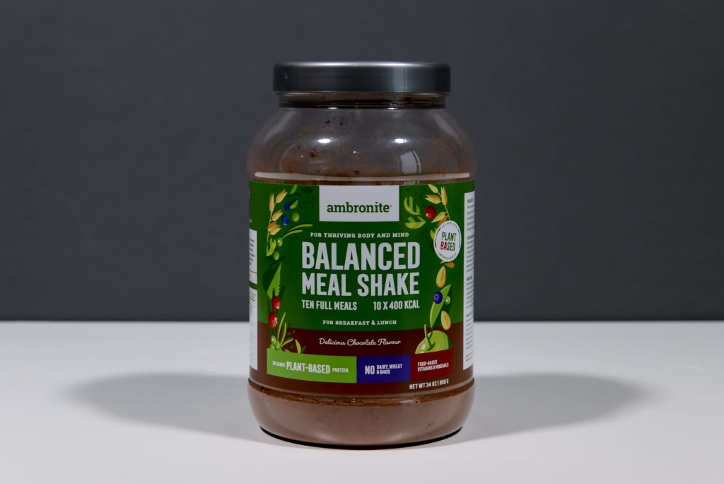 ambronite balanced meal shake schokolade