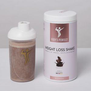 bodys perfect women weight loss shake zubereitung
