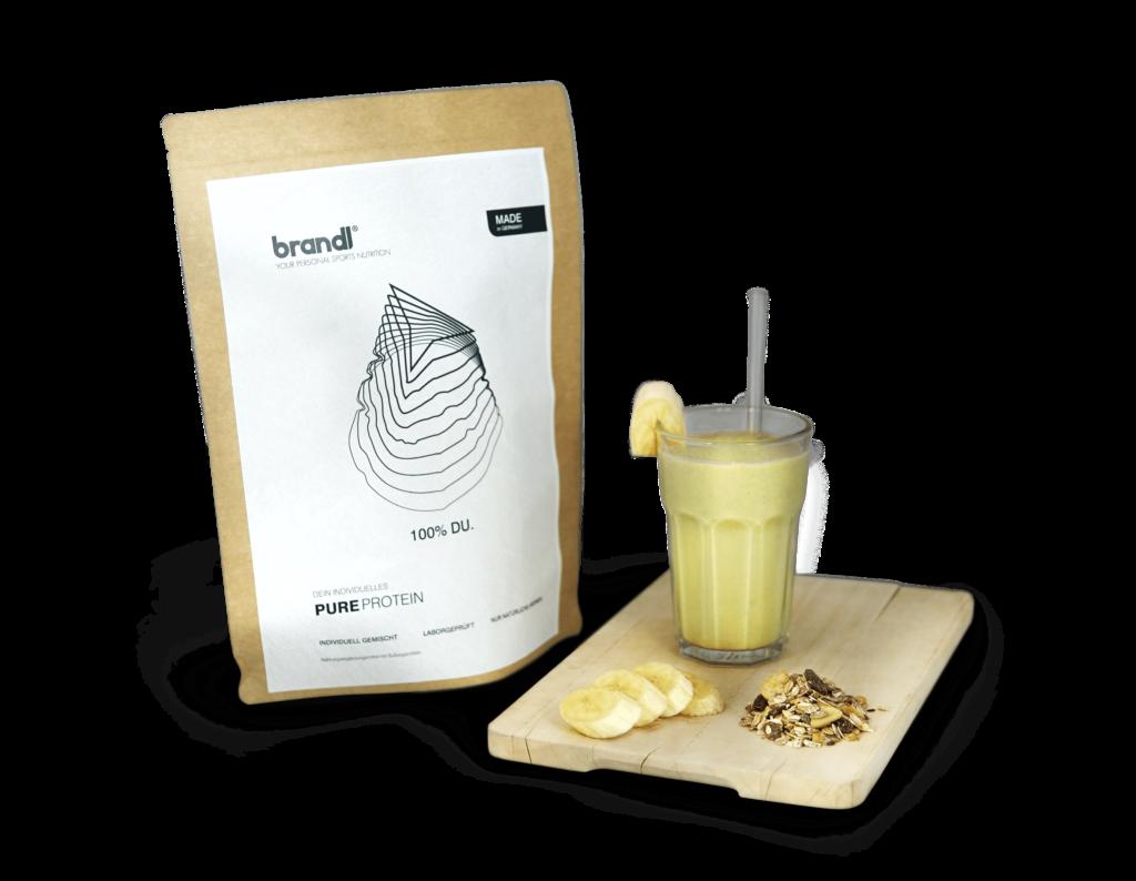 brandl pureprotein shake inhaltsstoffe