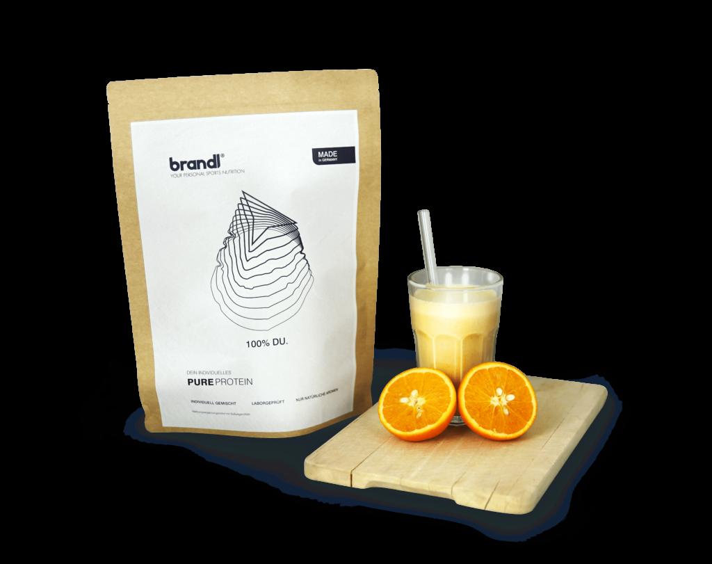 brandl pureprotein shake zubereitung