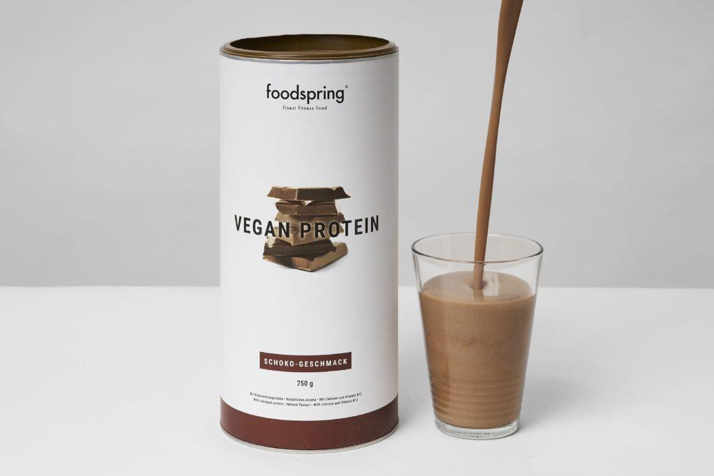 foodspring vegan protein geschmack