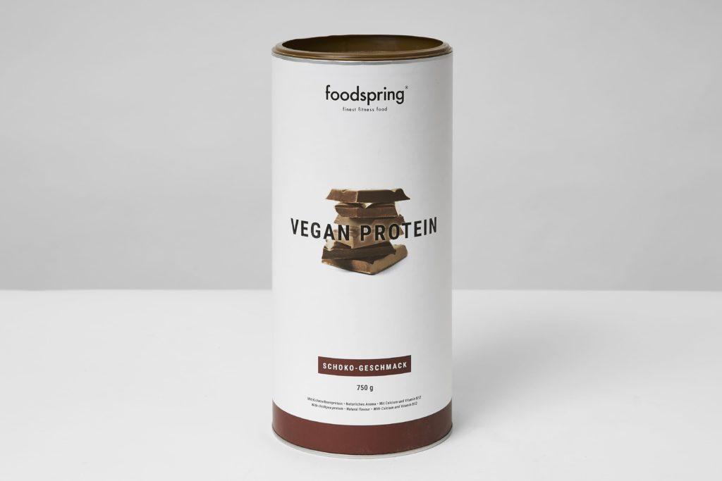 foodspring vegan protein testbericht