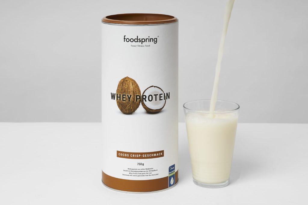 foodspring whey protein geschmack