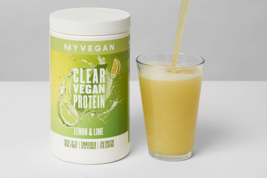 myprotein clear vegan protein pulver geschmackstest