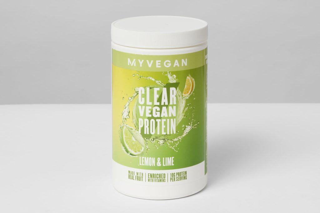 myprotein clear vegan protein pulver test