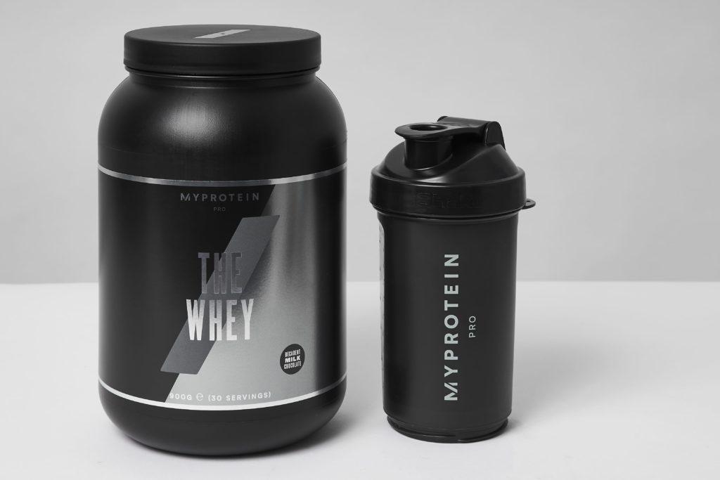myprotein whey protein shake test