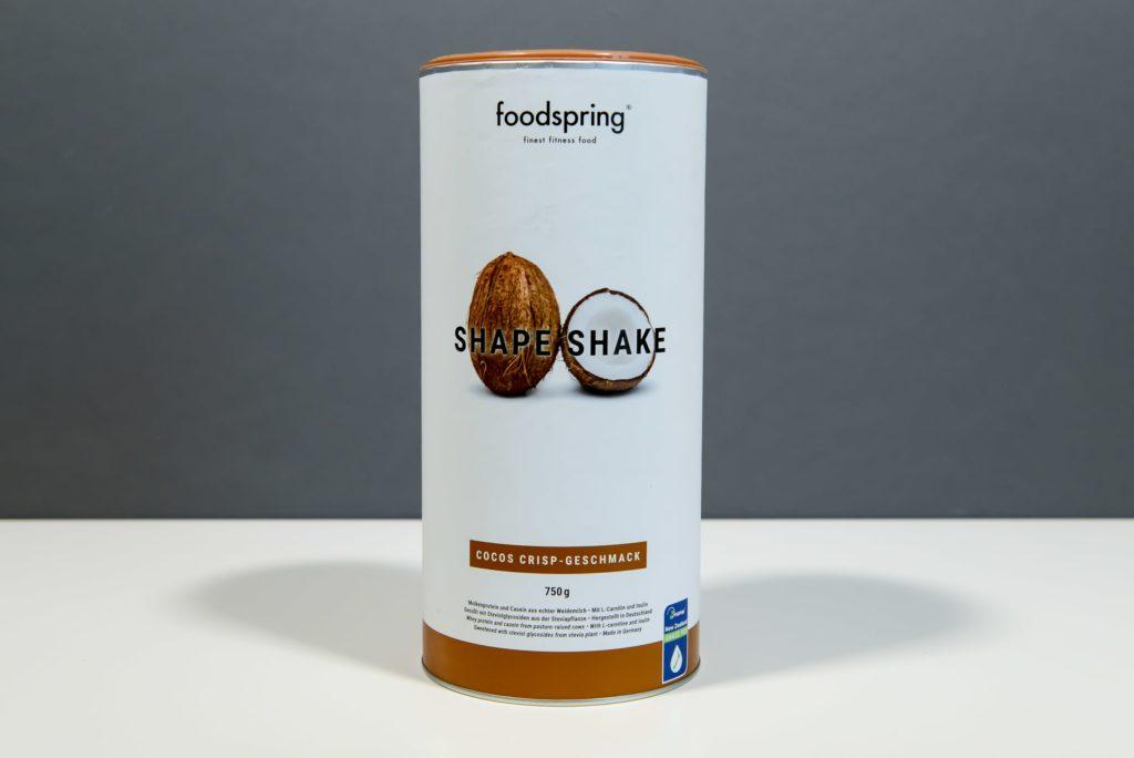 shape shake cocos crisp geschmack