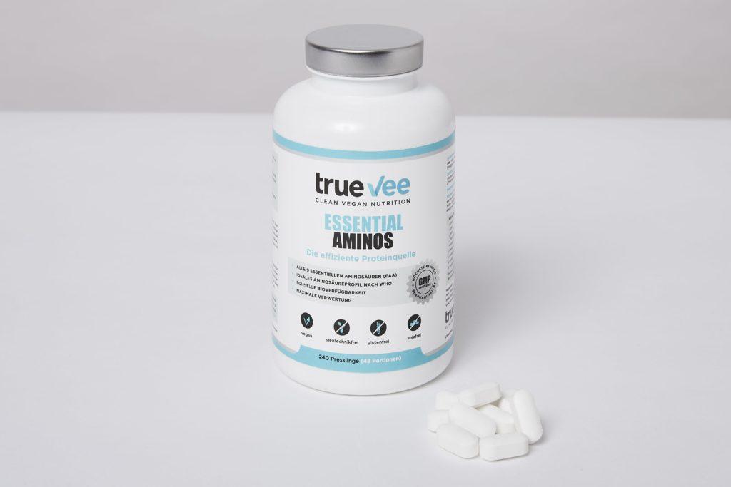 true vee essential aminos einnahme