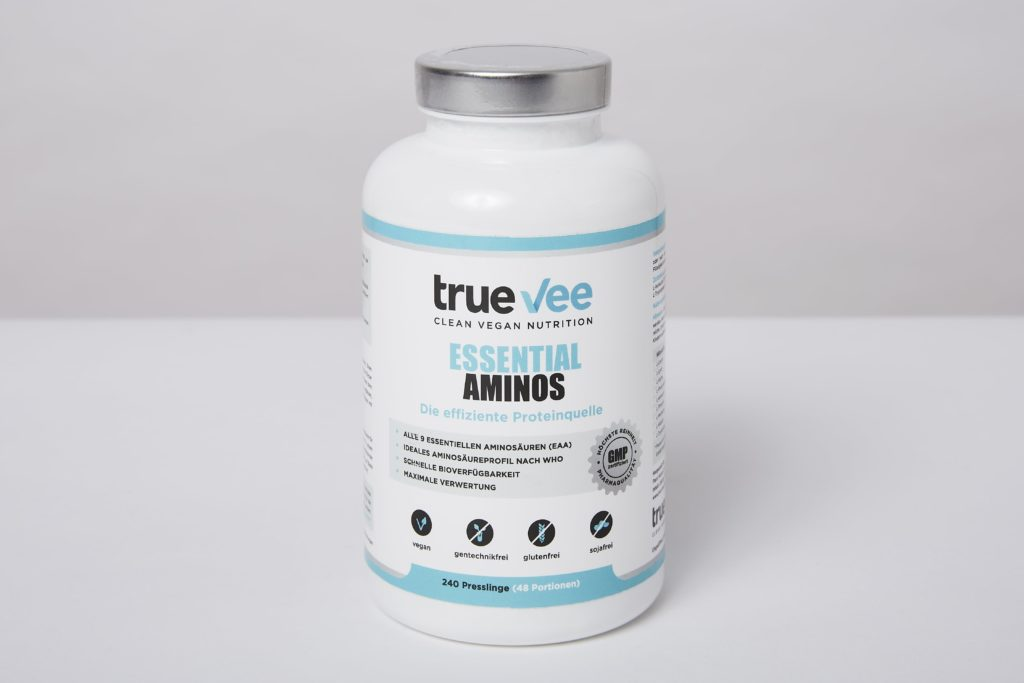 true vee essential aminos test