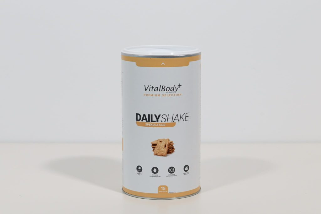 vital body plus daily shake spekulatius test