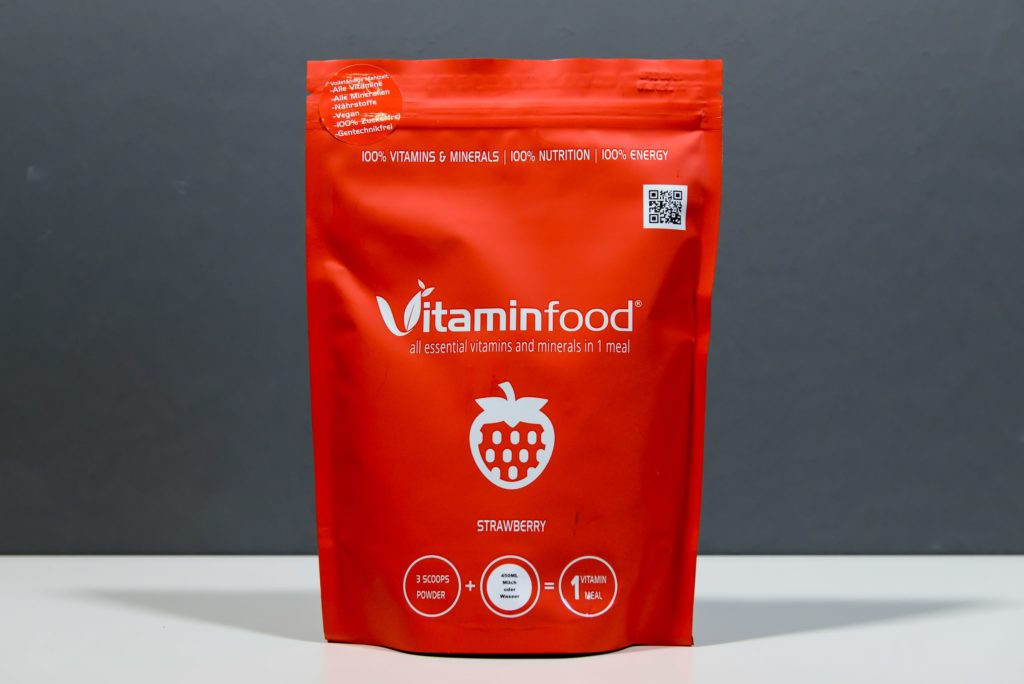 Vitaminfood Review Erdbeere