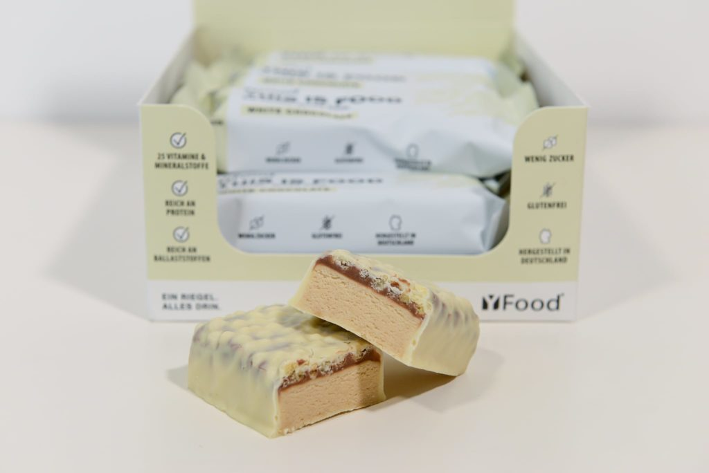yfood riegel white chocolate test